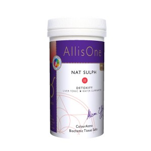 AllisOne Nat Sulph Tissue Salts Lactose Free 500ng 180s
