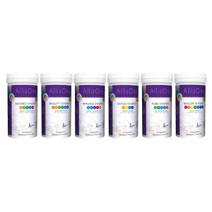 AllisOne Tissue Salts Lactose Free Synergy Collection: 6x180s