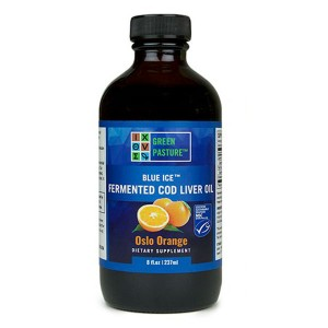 Fermented Cod Liver Oil Liquid Orange by Green Pasture