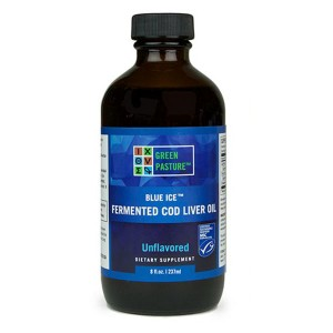 Fermented Cod Liver Oil Liquid by Green Pasture