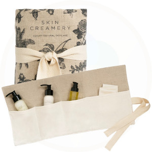 Skin Creamery Travel Essentials Bag