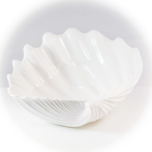 Luna Large Clam Serving Bowl