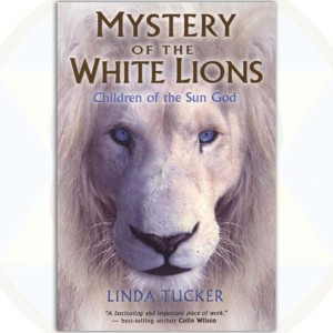 Mystery of the White Lions softback cover