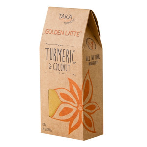 Golden Latte with Turmeric & Coconut by Taka Health