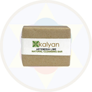 Kalyan Natural Artemesia & Lime Cleansing Bar