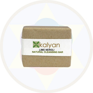 Kalyan Lime & Neroli Natural  Handcrafted Cleansing Bar