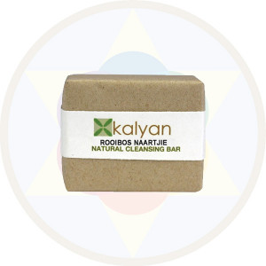 Kalyan Rooibos & Naartjie Natural Handcrafted Cleansing Bar